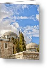 Suleiman Mosque 18 Greeting Card