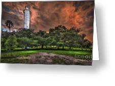 Sulfur Springs Tower Greeting Card