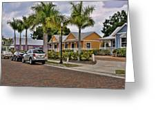 Sullivan Street Greeting Card by Sandy Poore