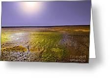 Sulphur Beach  Greeting Card