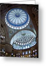 Sultan Ahmed Camii Blue Mosque Istanbul Turkey Greeting Card