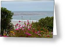 Summer At Carmel Greeting Card