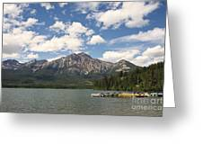Summer At Pyramid Lake Greeting Card