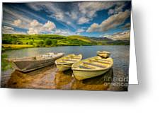 Summer Boating Greeting Card