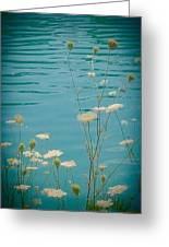 Summer By The Lake 2 Greeting Card