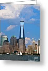 Summer Cityscape Nyc  Greeting Card