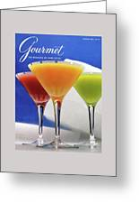 Summer Cocktails Greeting Card by Romulo Yanes