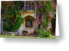 Summer Cottage Greeting Card