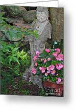 Summer Evening Light On Guanyin Greeting Card