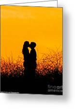 Summer Evening Love Greeting Card