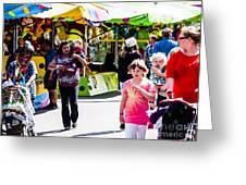 Summer Fair-12 Greeting Card