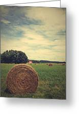 Summer Field Of Dreams Greeting Card