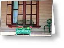 Summer Furniture Greeting Card