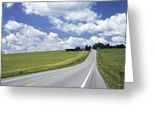 Summer Highway Greeting Card