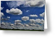 Summer Horizon Greeting Card