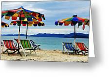 Summer I N Thailand Greeting Card