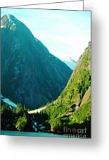 Summer In Alaska Greeting Card