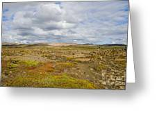 Summer In Iceland Greeting Card