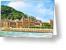Summer In St Sebastian Greeting Card