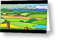 Summer In The Shenandoah Valley Greeting Card