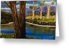 Summer In The Snowy River Region Greeting Card