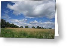 Summer Iowa Prairie Greeting Card