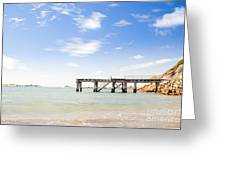 Summer Jetty Greeting Card