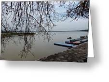 Summer Lake Greeting Card