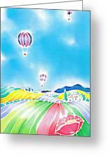 Summer Lights Greeting Card