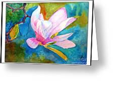 Summer Magnolia Greeting Card