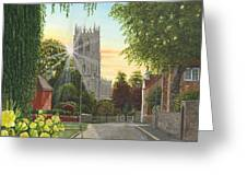 Summer Morning St. Mary Greeting Card