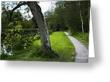 Summer Path Greeting Card