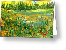 Summer - Pond Side Greeting Card