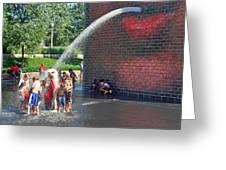 Summer Shower Greeting Card
