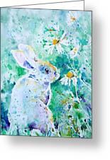 Summer Smells Greeting Card by Zaira Dzhaubaeva