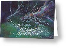 Summer Snowflakes Greeting Card
