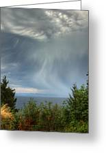 Summer Squall Greeting Card by Randy Hall