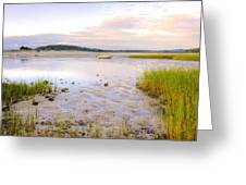 Summer Sunrise At Little Neck Greeting Card