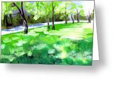 Summer Sunshine In South Carolina Greeting Card