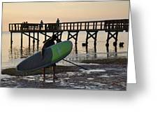 Summer Surfer Greeting Card