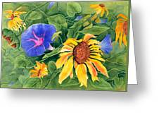 Summer Tango Greeting Card