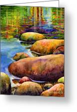 Summer Tranquility Greeting Card