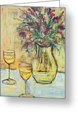 Summer Wine Greeting Card