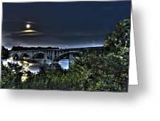 Summer's Full Moon Greeting Card