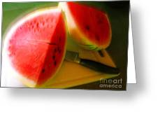Summertime And The Living Is Easy Greeting Card