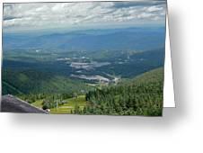 Summertime On Mt. Killington Greeting Card