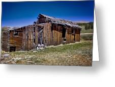 Summitville - Colorado Ghost Town Greeting Card