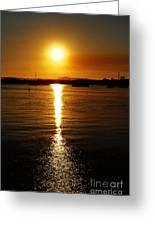 Sun 5 Greeting Card