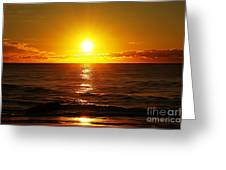 Sun 7 Greeting Card