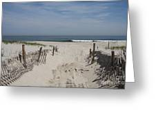 Sun And Sand Greeting Card